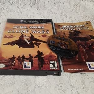 Nintendo Gamecube Star Wars the Clone Wars Game